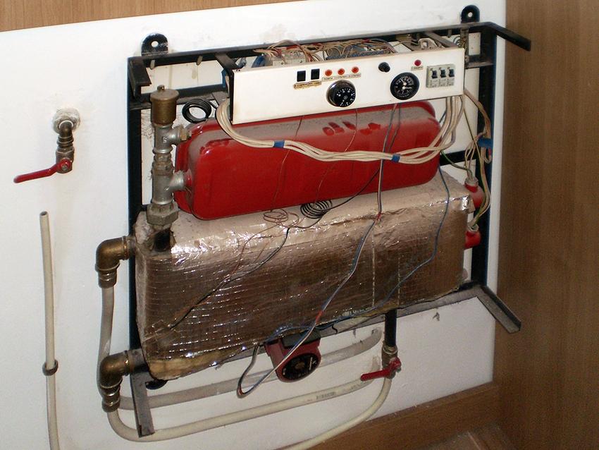 Installation of boiler