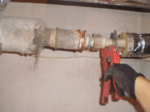 Removal of leakage