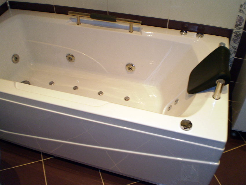 Installation of Jacuzzi