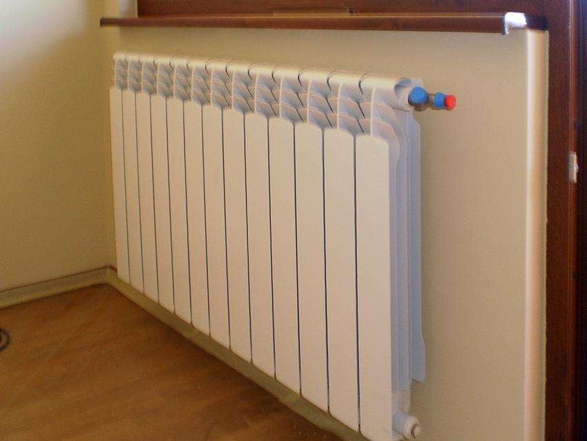 Installation of radiator