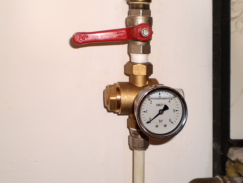 Installation of the meter