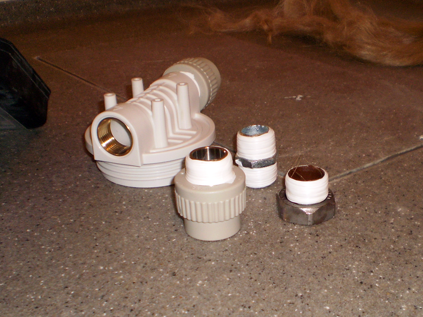 Installation of filters 6