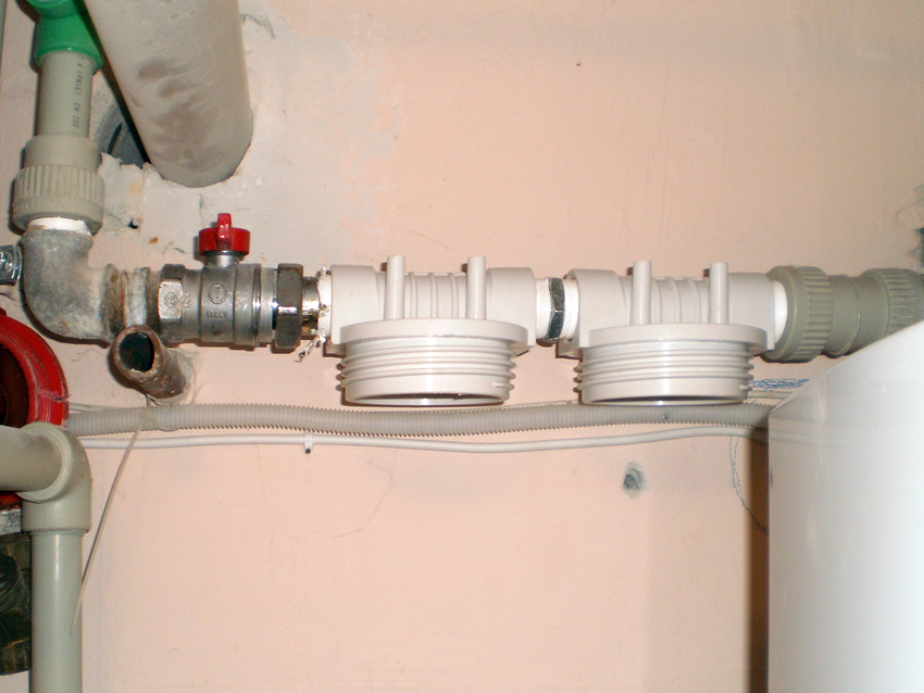 Installation of filters 1